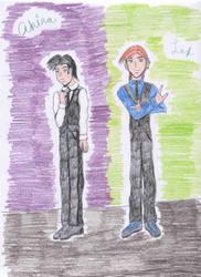 Akira and Lex by Dragonstar78