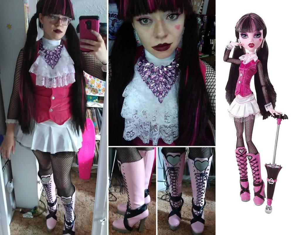 Kjersti Trollson, Monster High cosplay by cimmerianwillow