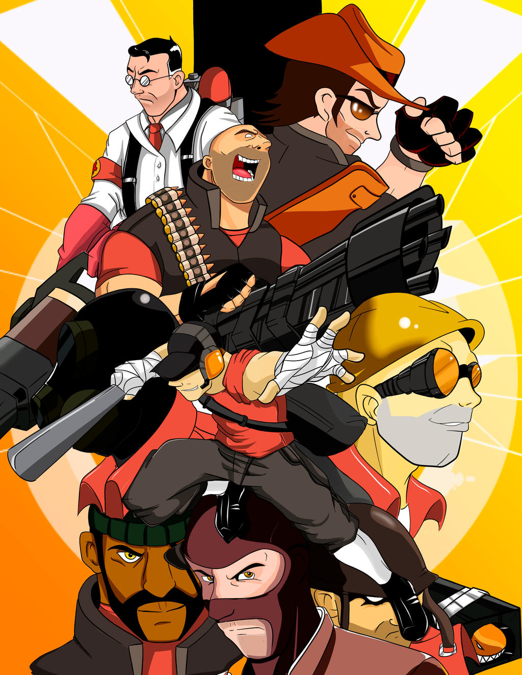 Team Fortress by ThunderEddie
