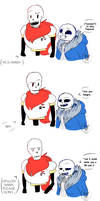 Comic of Sans.. and Papyrus