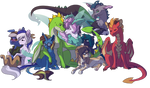 Commission for RelightLionKing [Multi Characters]