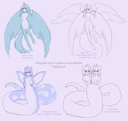 Species Concept Sketches