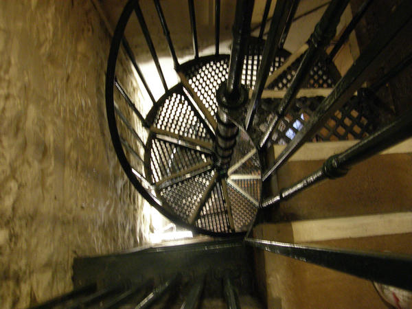Corner Stair Tower At Night : Stairs of the tower by xznightzx on deviantart