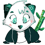 Panda Pistache by LadyMelodie