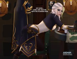 Warcraft babes: Jaina