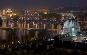 Prague by night IV by vttiste