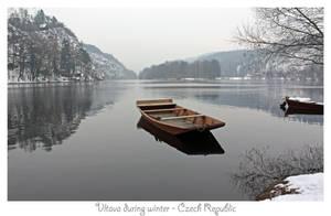 Boat on Vltava 2 by vttiste