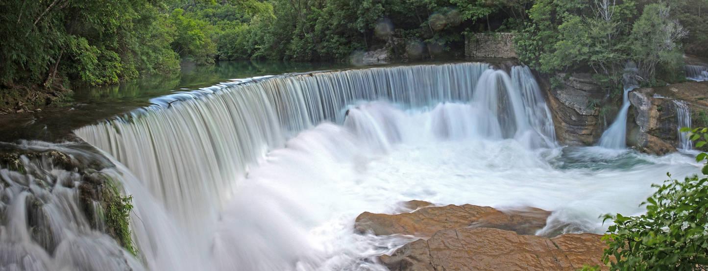 Cevennes waterfall