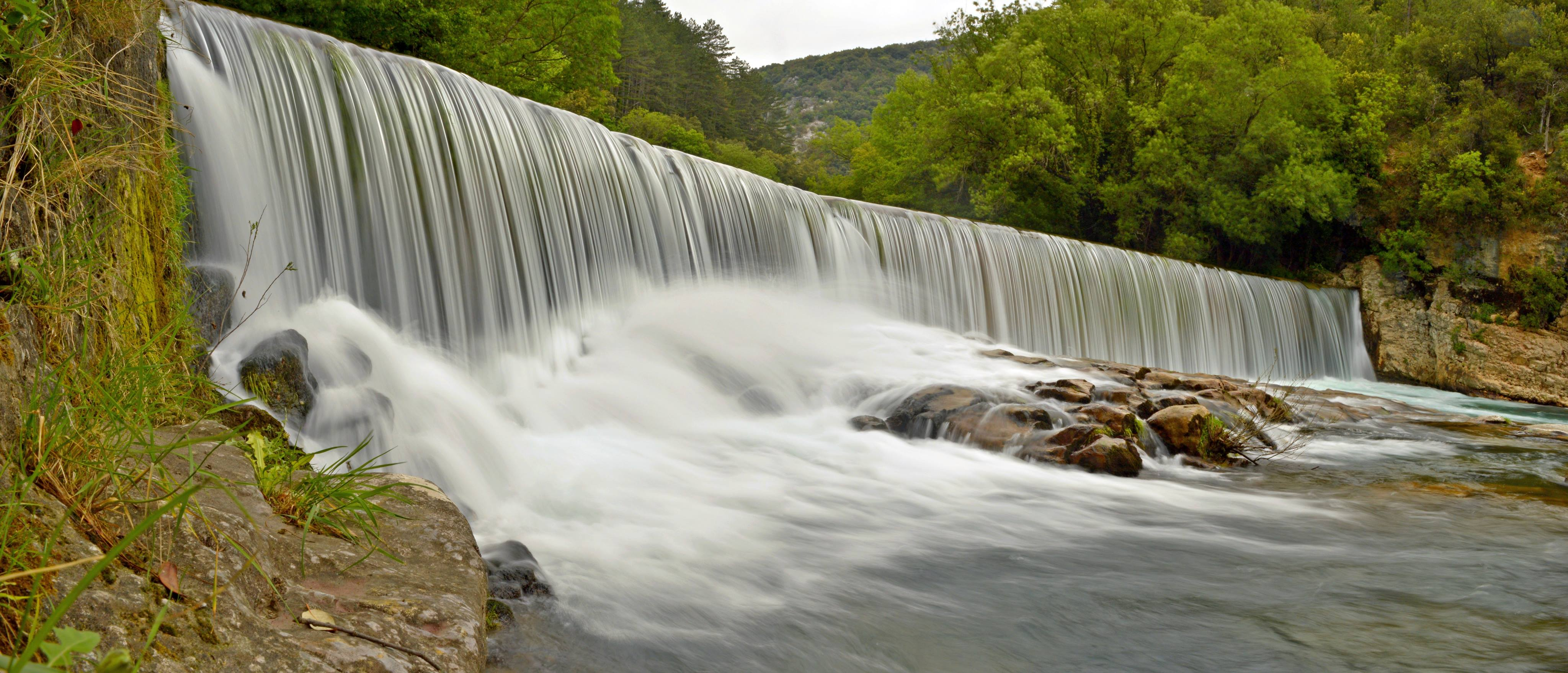 Cevennes river by vttiste