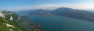 Lac d'Annecy by vttiste