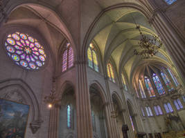 Montpellier cathedral II by vttiste
