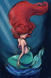 Ariel by samycat