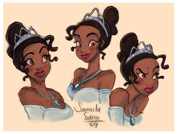 Princess Tiana by samycat