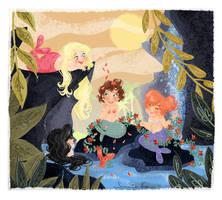 Little Mermaids by samycat