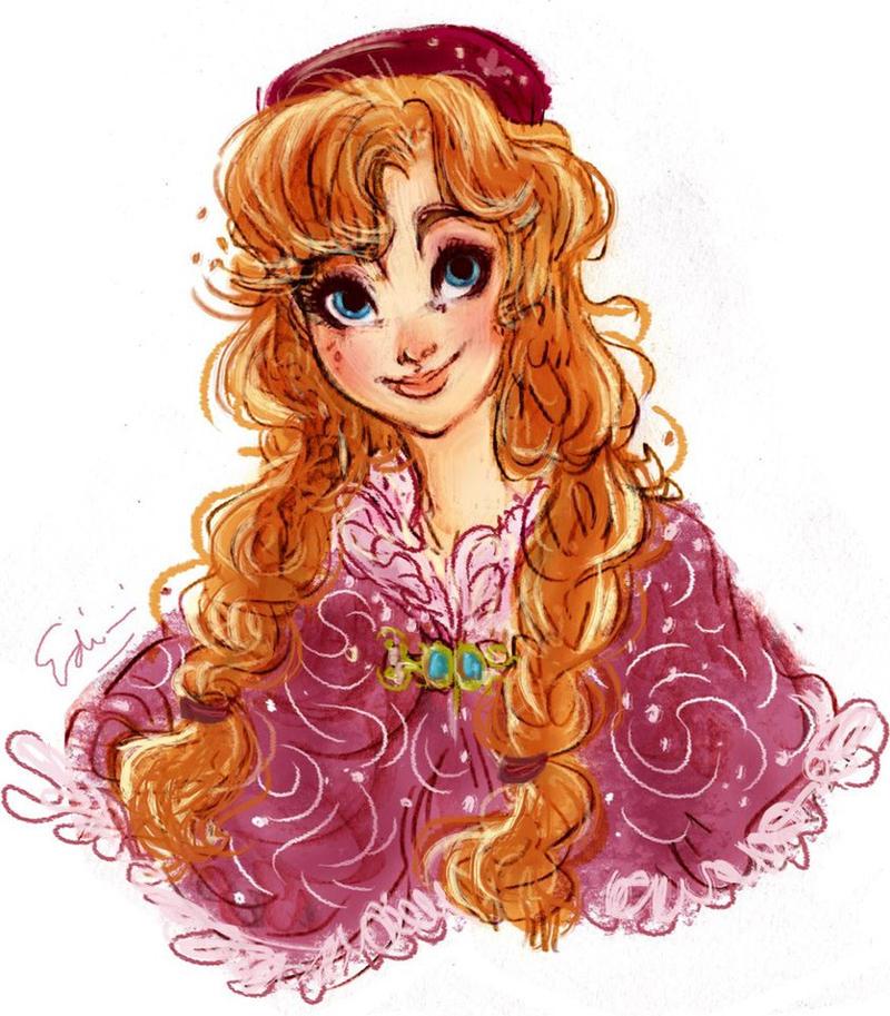 Anne from Frozen by samycat