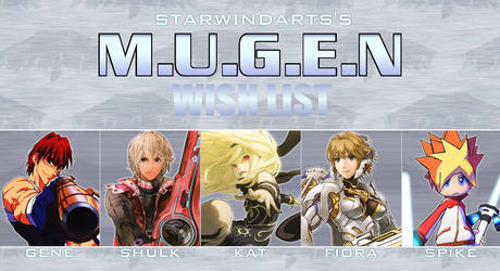 My M.U.G.E.N Wish List