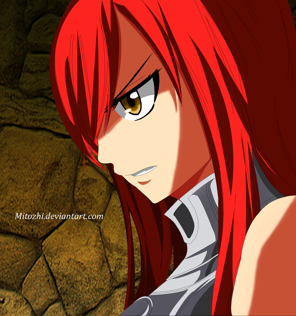 Erza Scarlet Wallpaper: Erza Scarlet By Mitozhi On DeviantArt