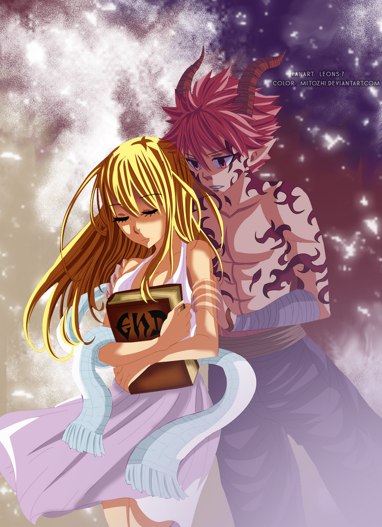 Natsu and lucy by mitozhi on deviantart - Fairy tail lucy et natsu ...