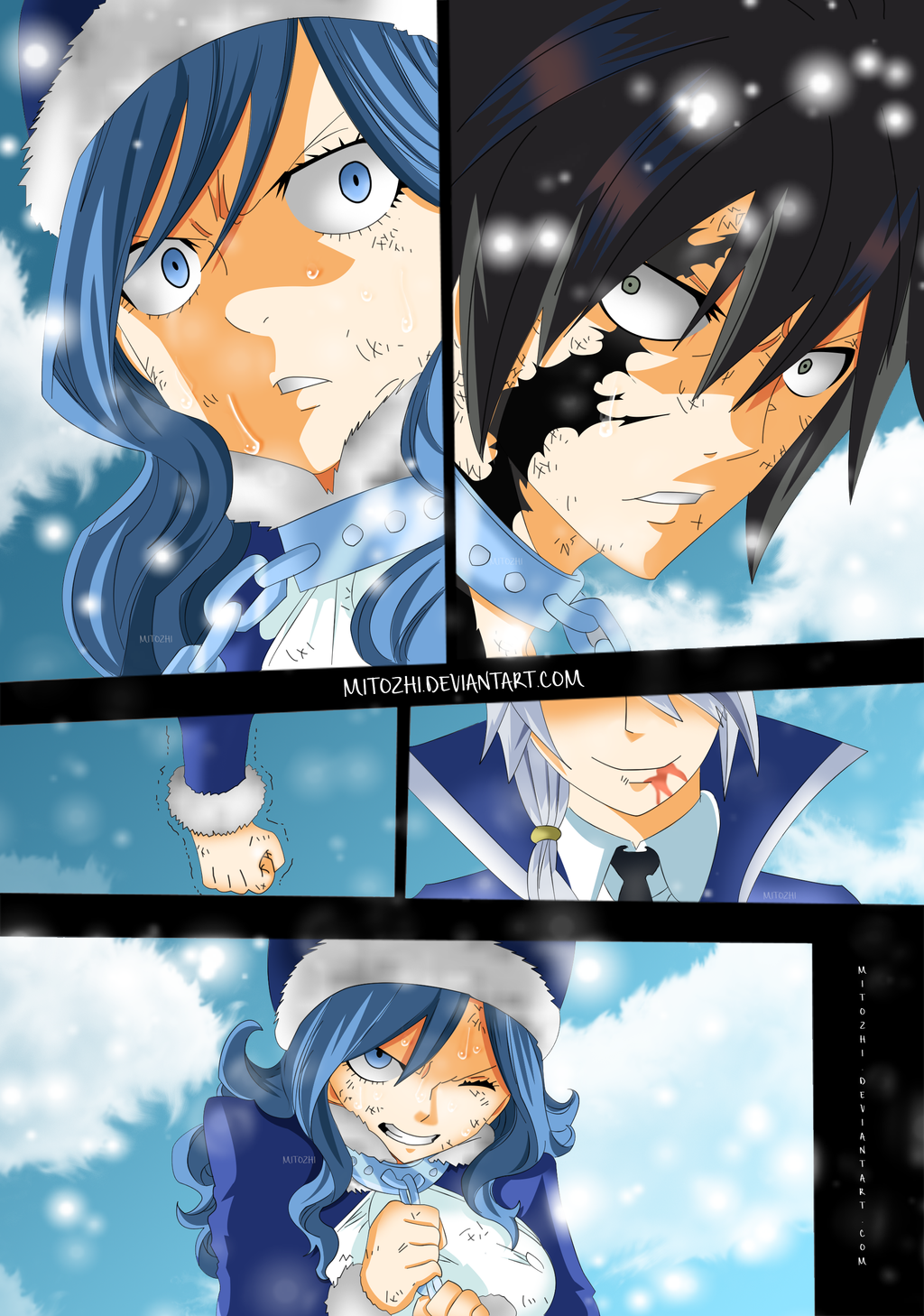 juviaandgrayfairytail498 by mitozhi on deviantart