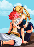 Fairy-Tail  507 Natsu and Lucy