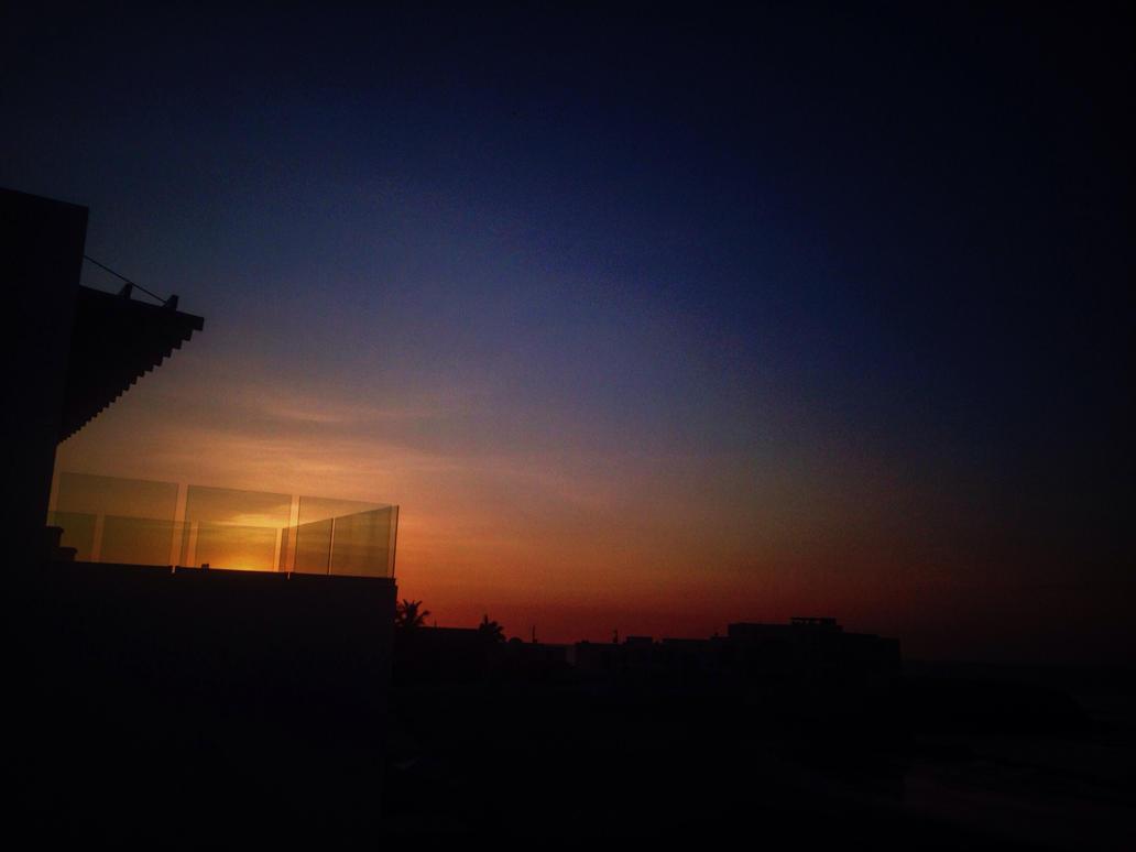 The last sunset by DeathfullKam