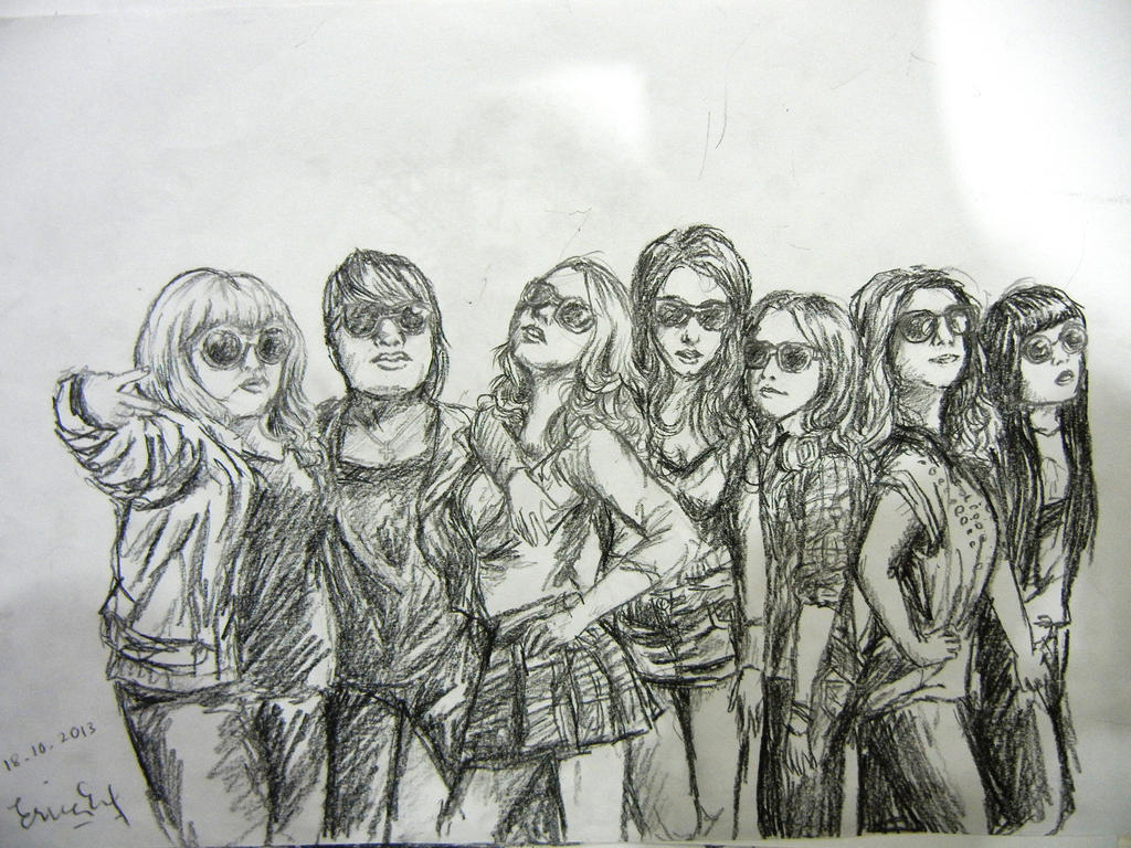 Pitch Perfect Sketch By Huiqing22 On Deviantart