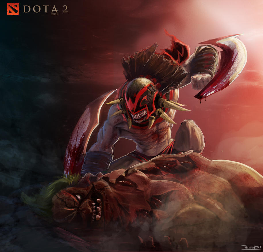 battle to the death dota 2 by trungth on deviantart