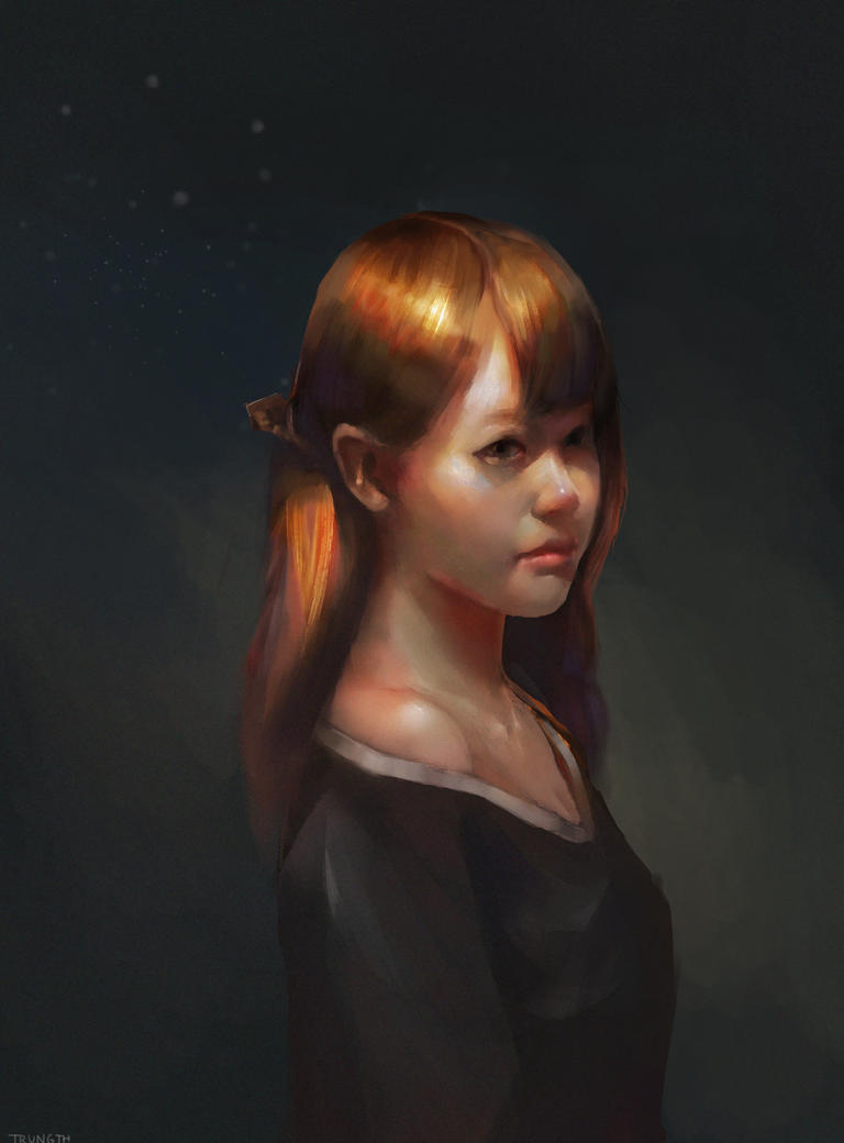 Girl - Study by TrungTH