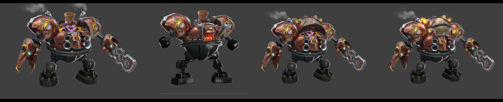 Dota 2-Timbersaw's old set concept by TrungTH