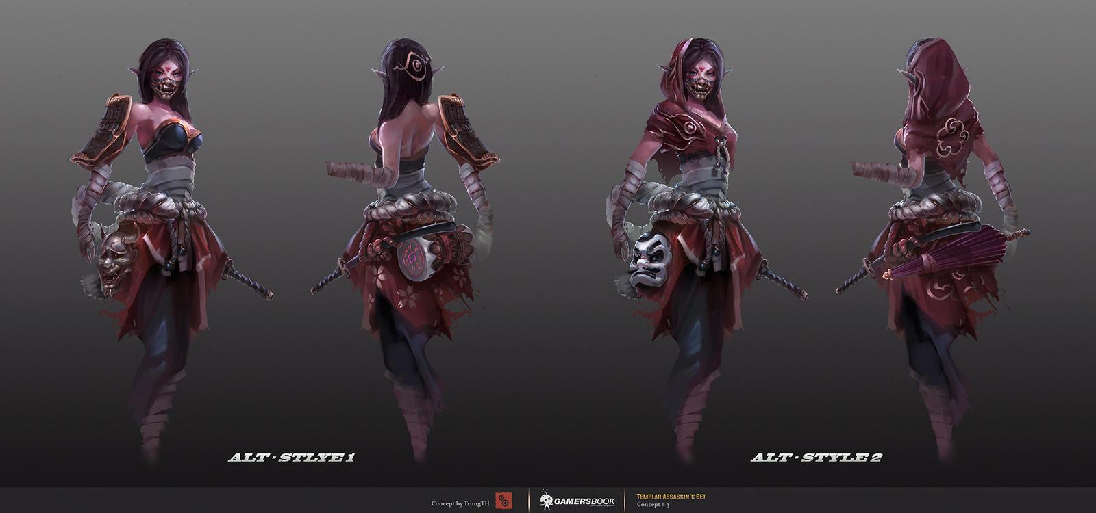 templar assassin concept2 lunar oni by trungth on