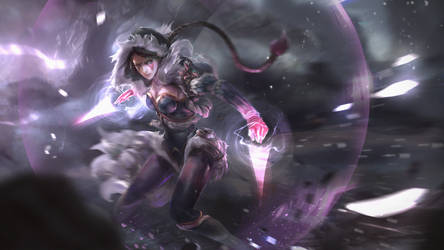 Dota 2 - Templar Assassin loading screen