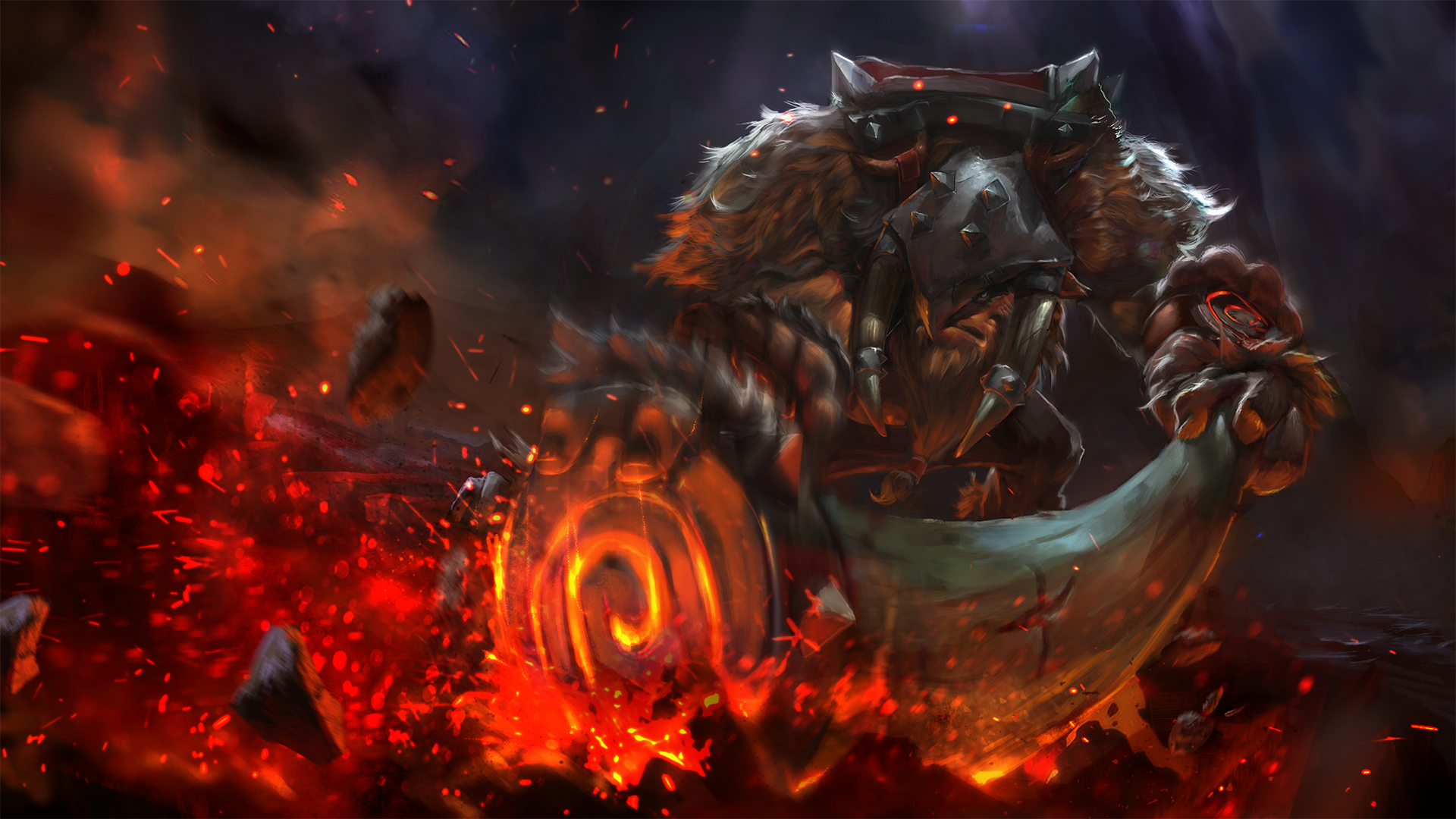 Time Of Behemoth Loading Screen By Trungth On Deviantart