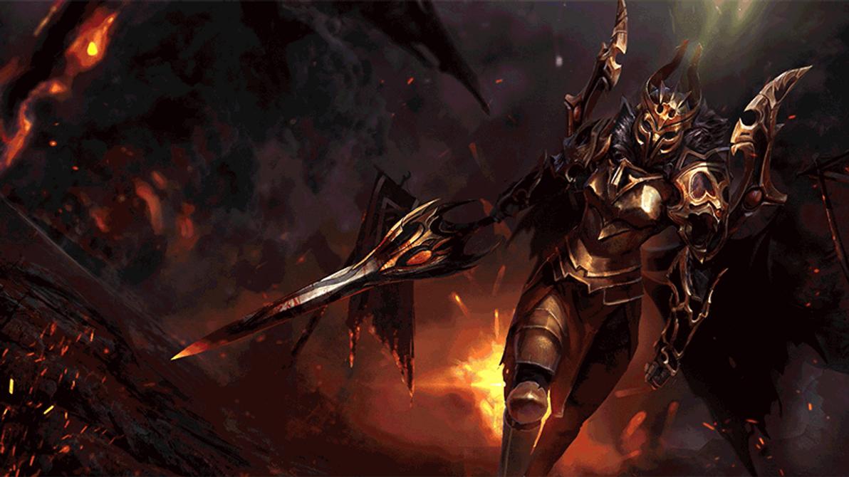 Legion Commander-Animated by TrungTH on DeviantArt