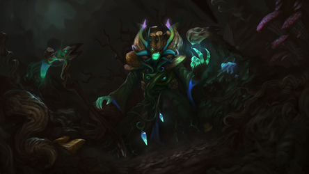 Parasitic Fungi - TI8 Necro set submission