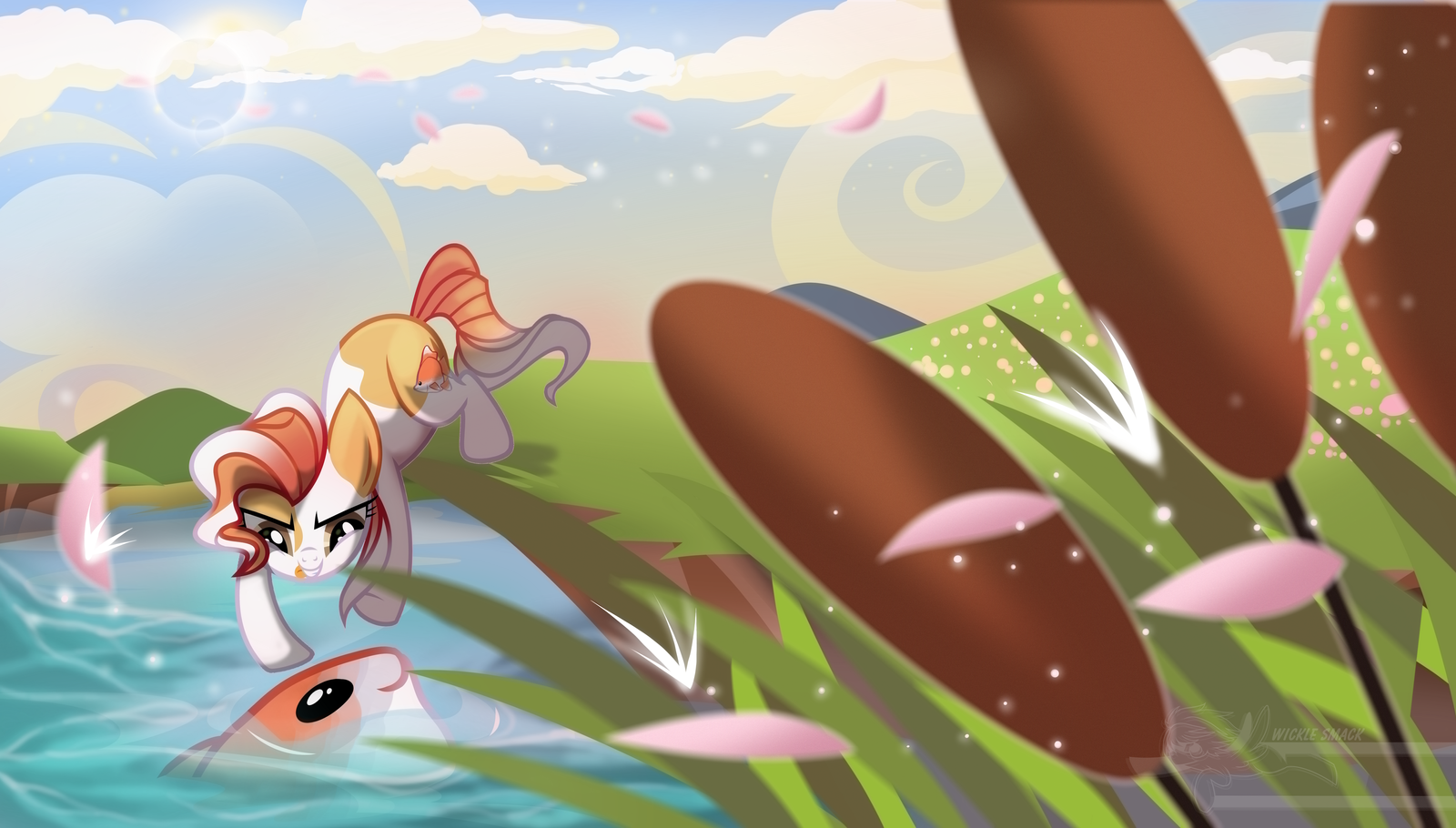 Pebbles' Day Out by Wicklesmack