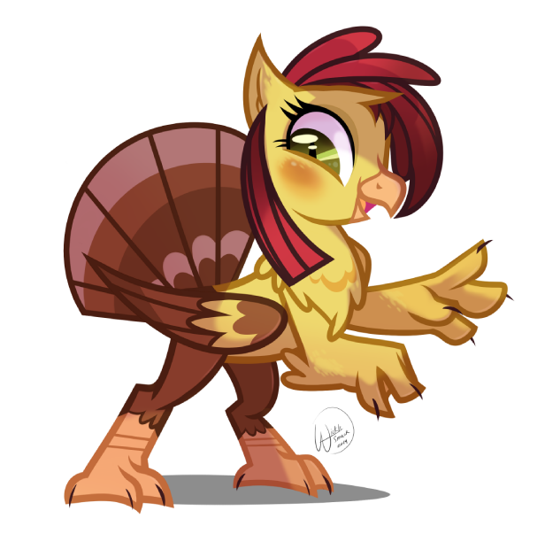 Turkey Peppy by Wicklesmack