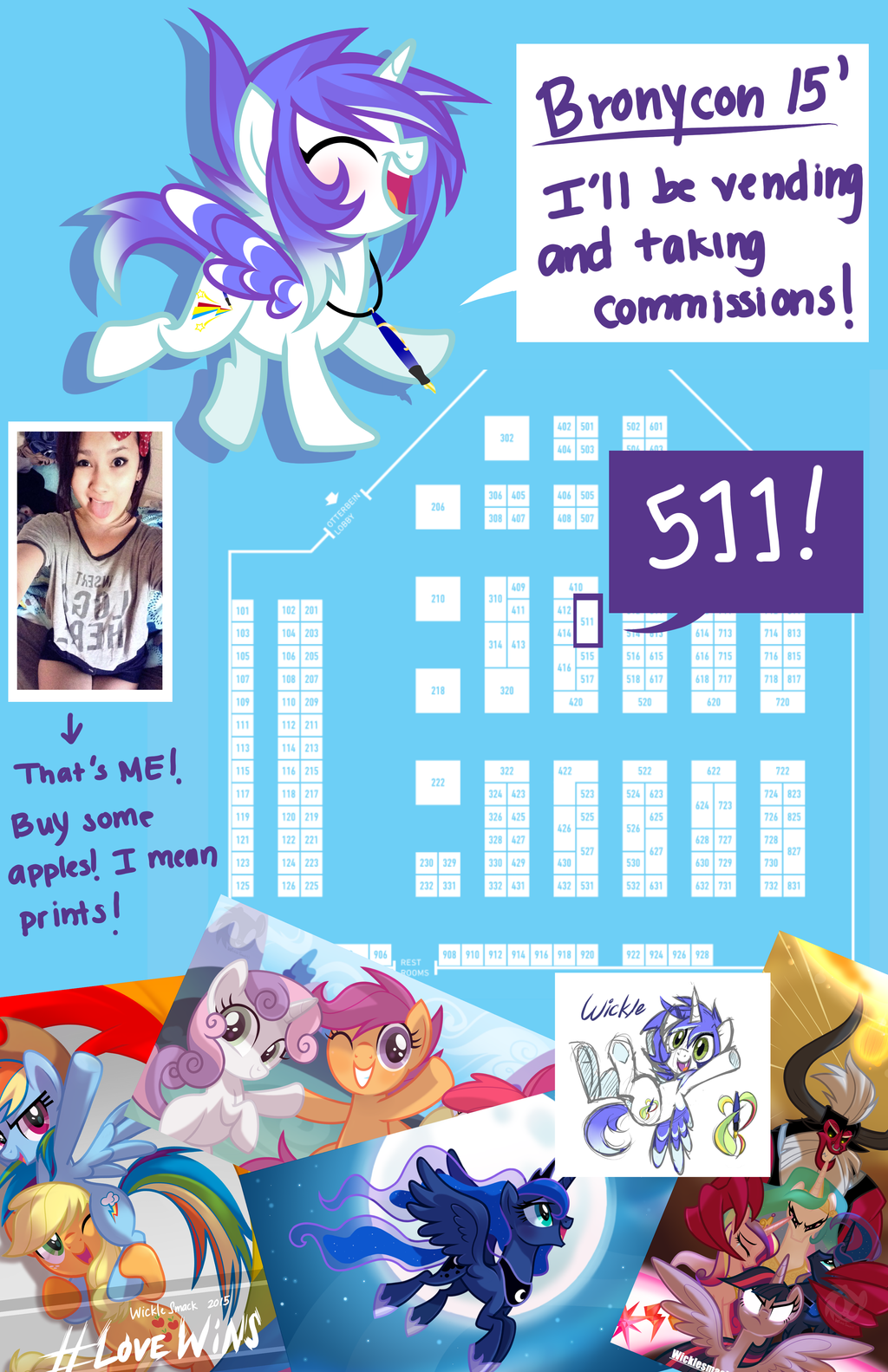 Bronycon 2015 by Wicklesmack