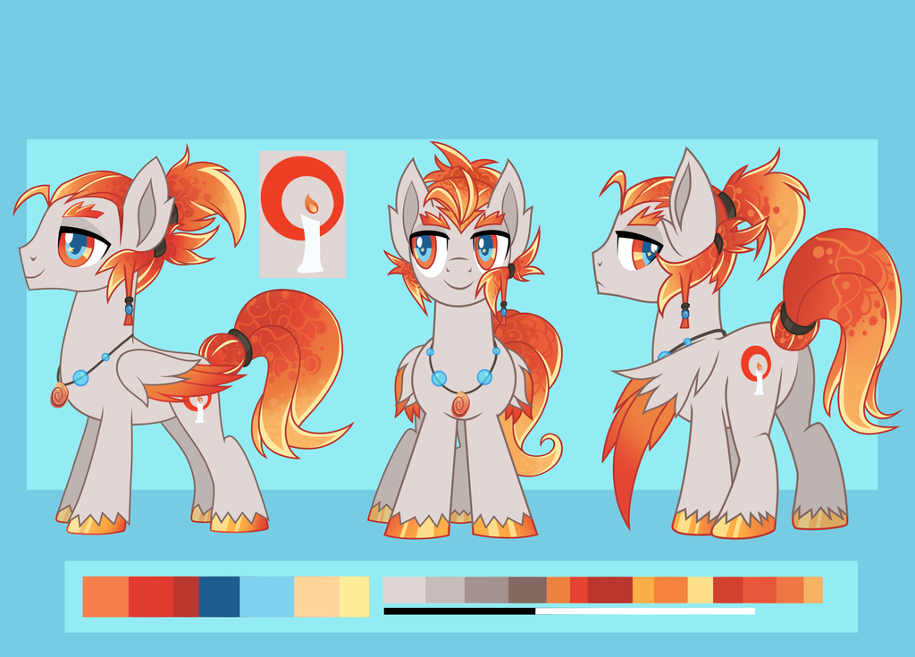 Flickerwick Reference Sheet by Wicklesmack