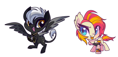 Chibi Commission December by Wicklesmack