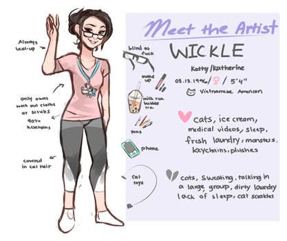 Meet the Artist by Wicklesmack