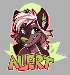 Alert Badge 2018 by Wicklesmack