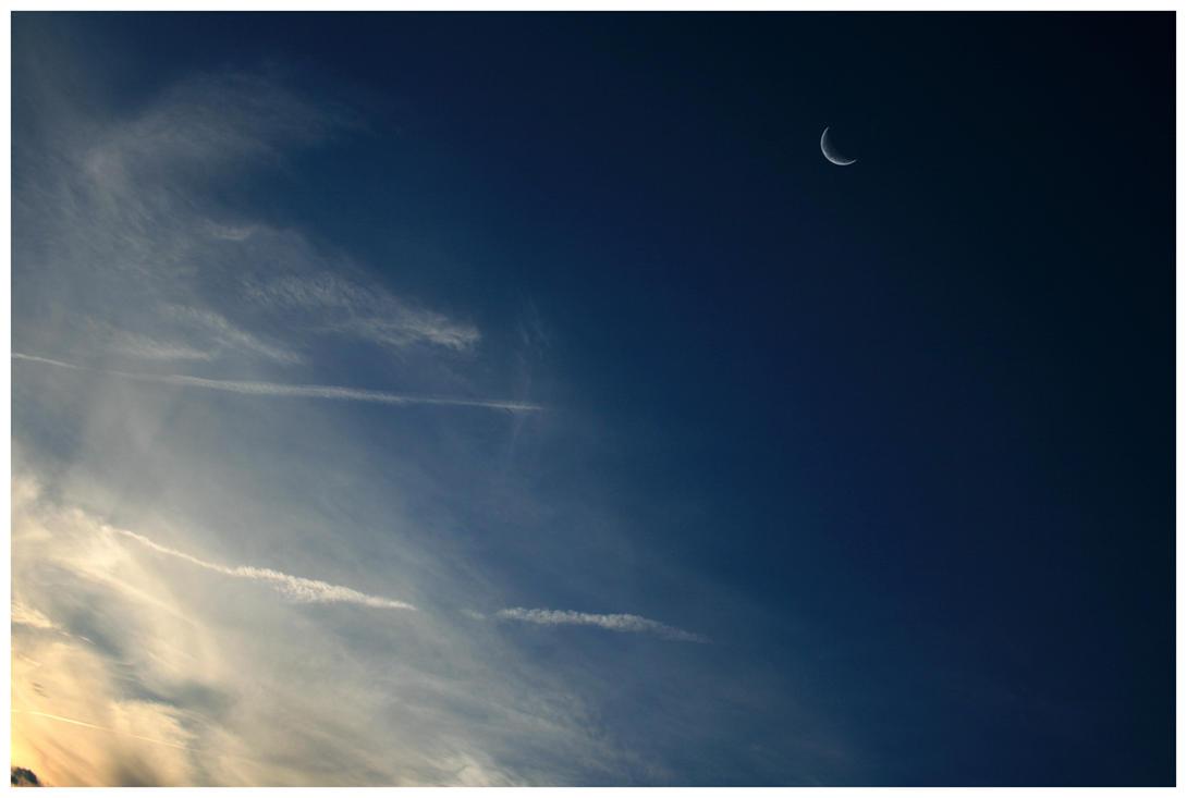 Moon + Sky by Subsonicboom