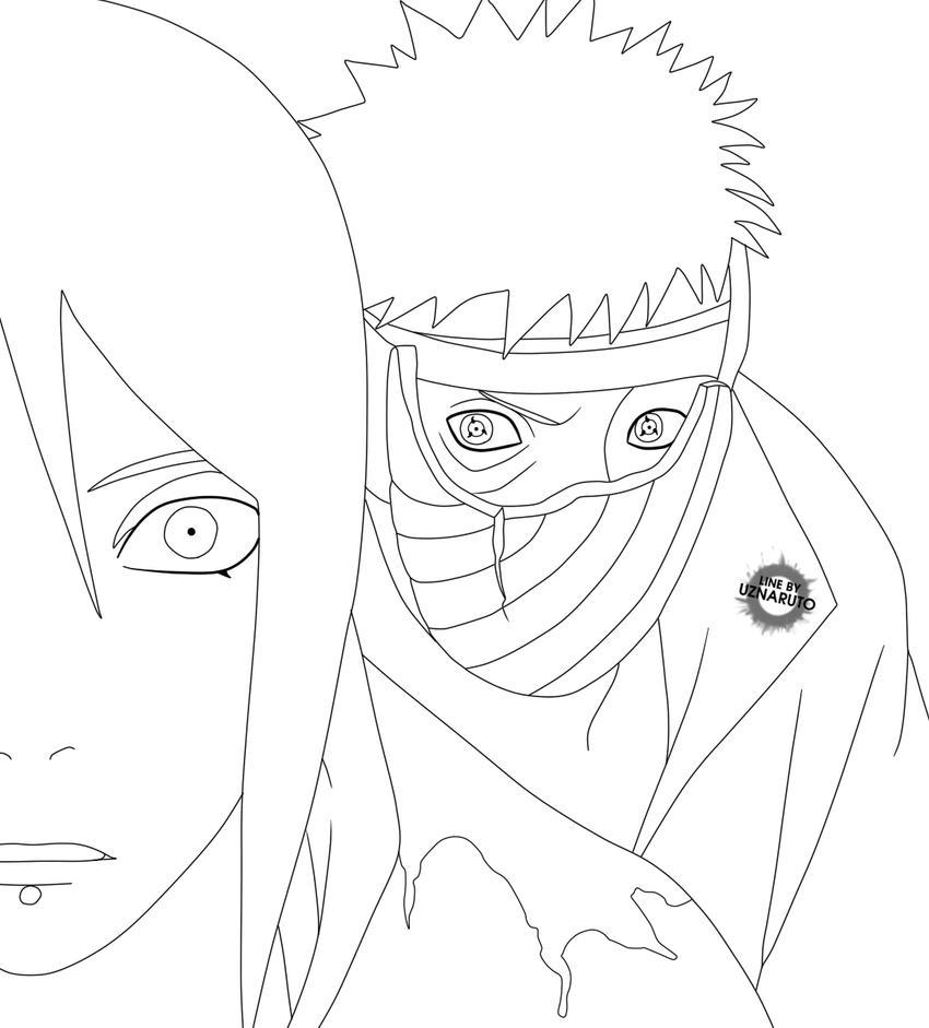 Naruto Manga 510 LineArt by UzNaruto
