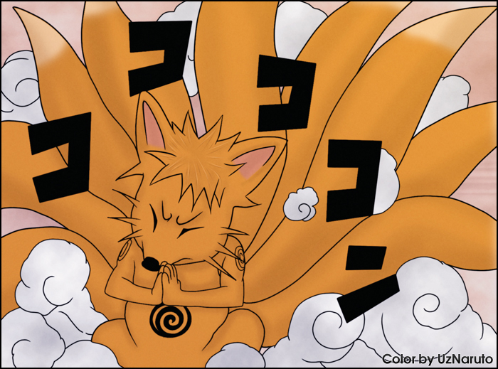 Naruto Manga 519: Kyubi by UzNaruto