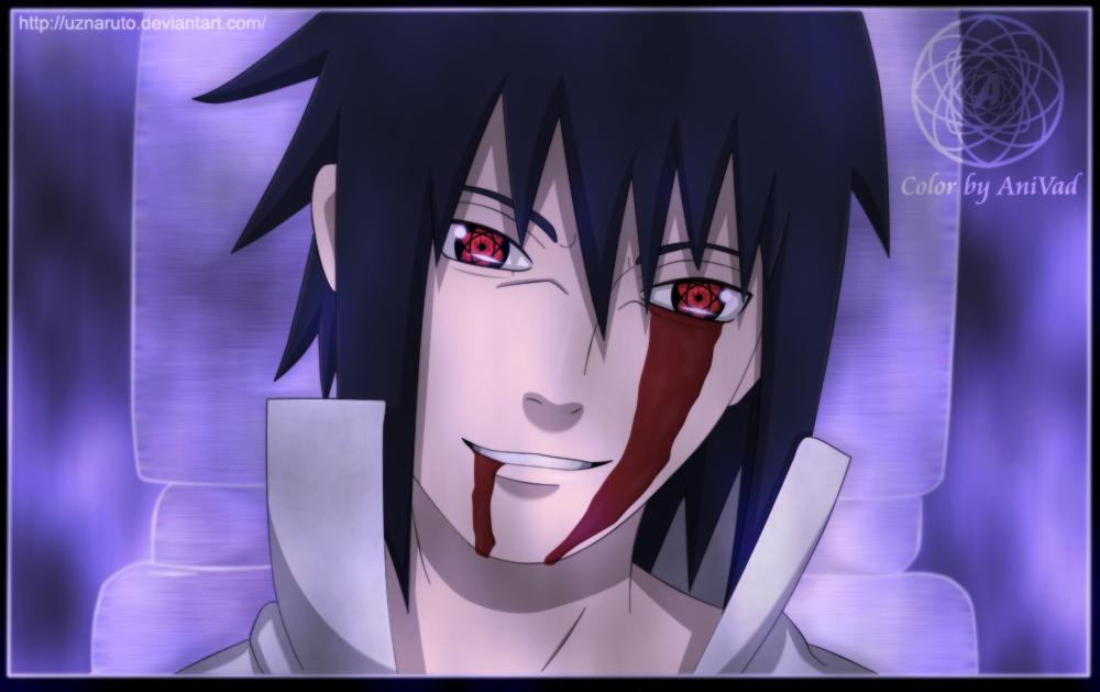 Naruto 465: Dark Sasuke by UzNaruto