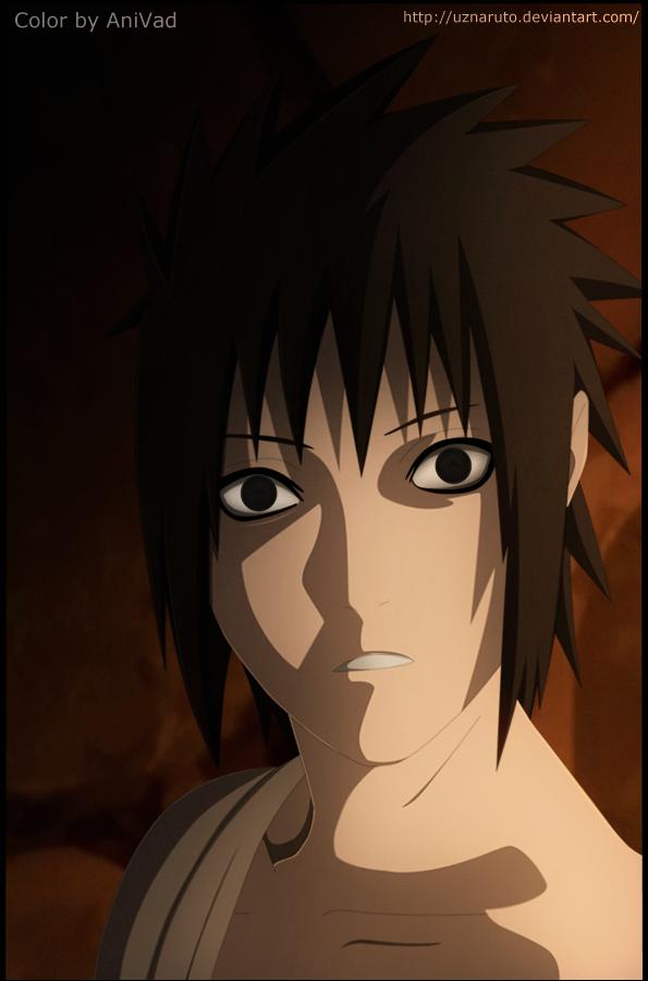Naruto 397: Sasuke by UzNaruto