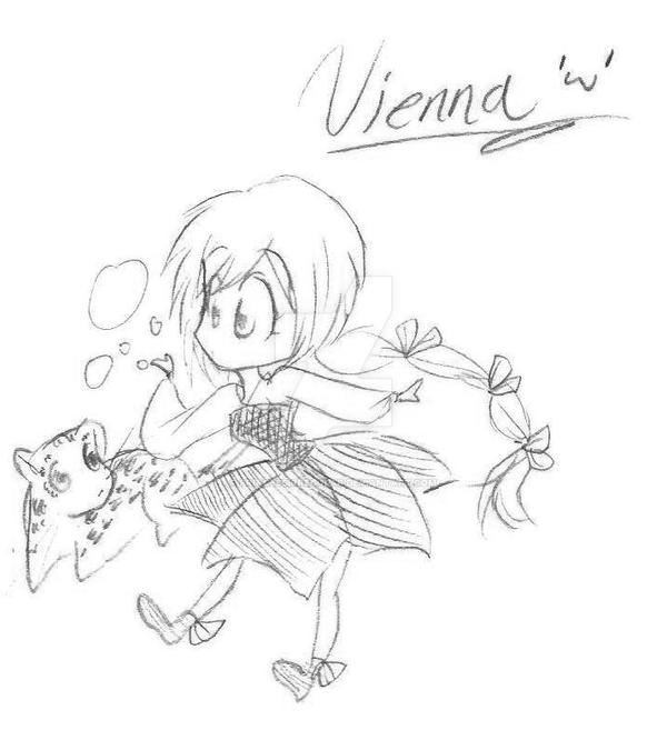 Chibi Vienna for Mirage Noir by PrincessIrregular