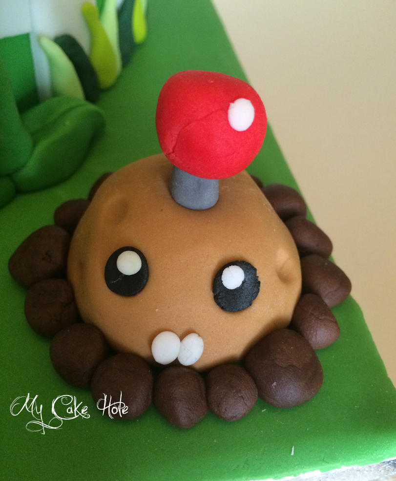 Plants vs Zombies cake topper Potato Mine by mycakehole on DeviantArt