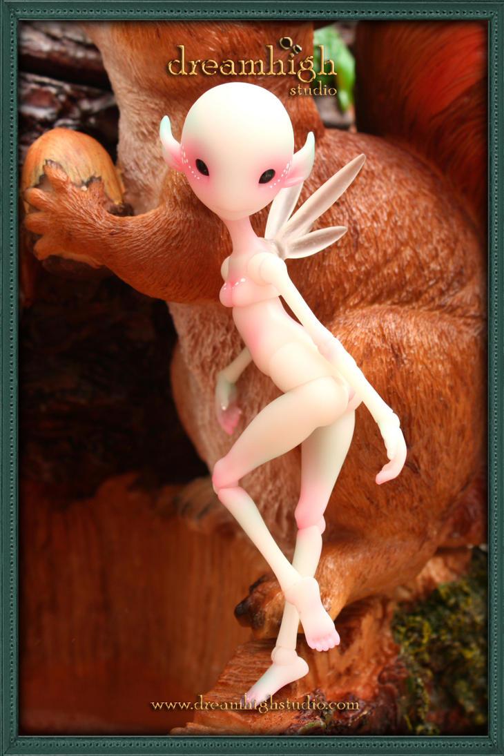 FEILENE the fairy 14cm BJD 1 by DreamHighStudio