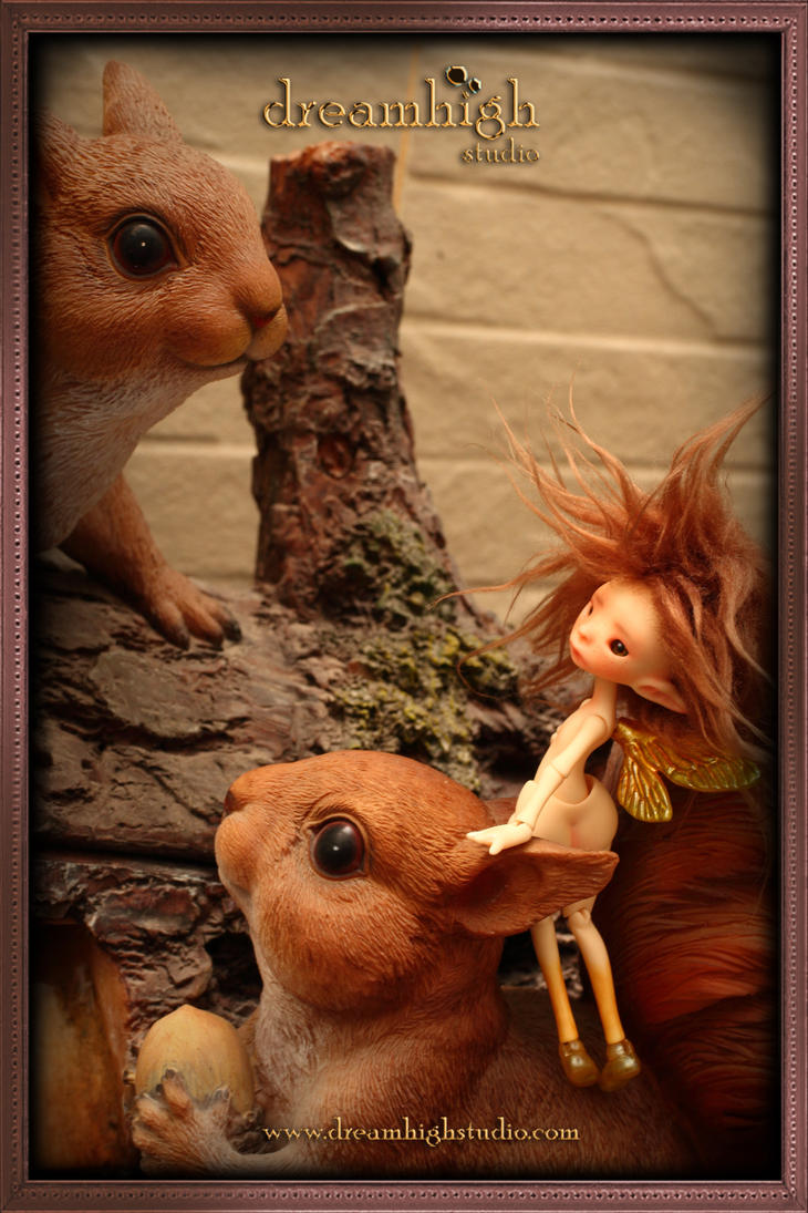 TAnya the pixie Tiny BJD by DreamHighStudio
